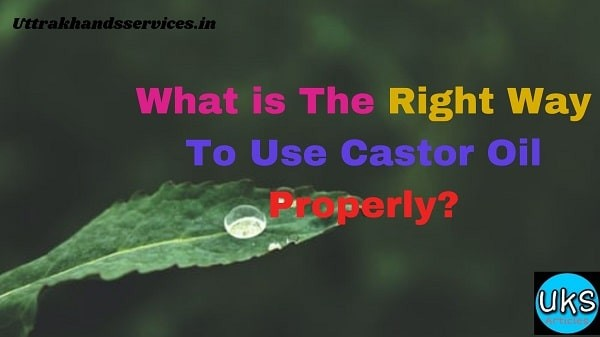 Most People Do Not Know The Way To Use Castor Oil Properly